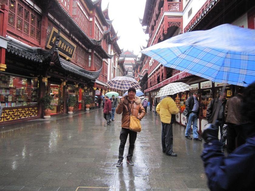 豫園・豫園商場・上海老街見学