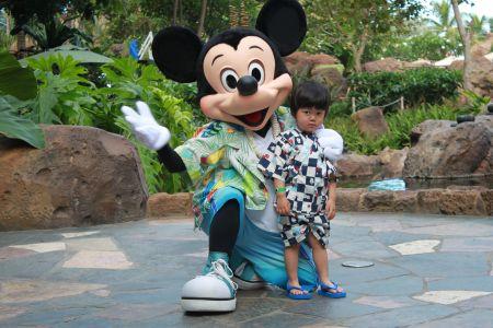 ディズニー・キャラクター・ブレックファスト Disney Character Breakfast at Makahiki