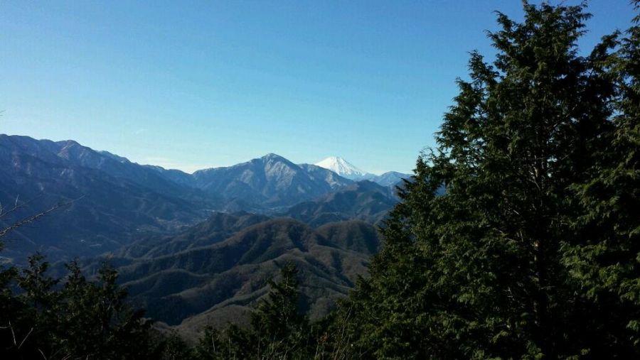 石老山の頂上