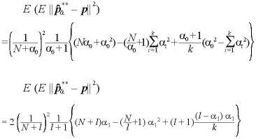 パラメータが未知の場合のベイズ統計量